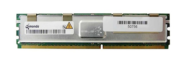 Memory RAM 1x 2GB QIMONDA ECC FULLY BUFFERED DDR2 667MHz PC2-5300 FBDIMM | HYS72T256420EFA