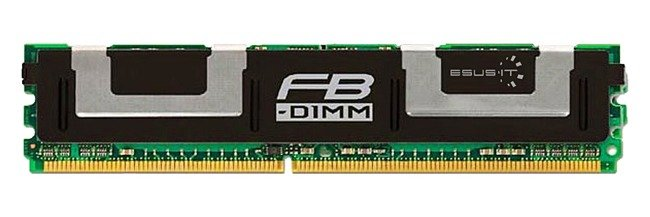 Memory RAM 1x 4GB ELPIDA ECC FULLY BUFFERED DDR2 667MHz PC2-5300 FBDIMM | EBE41FE4ACFT-6E-E